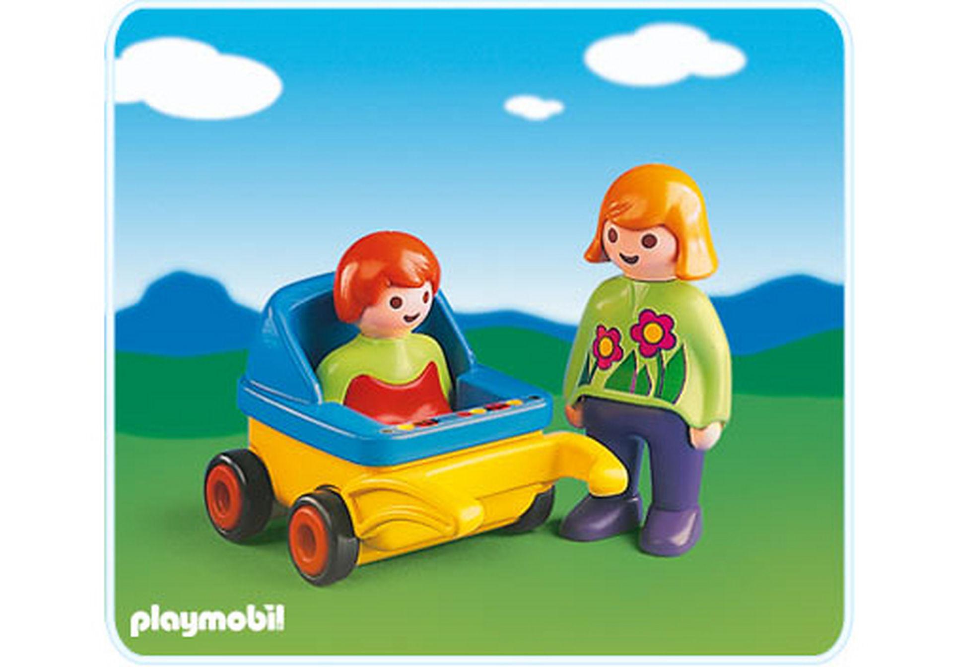 6749-A Mama mit Kinderwagen zoom image1