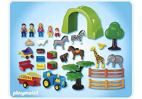6754-A Coffret Grand zoo 1.2.3 detail image 2