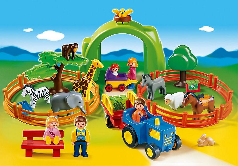 6754-A Coffret Grand zoo 1.2.3 detail image 1