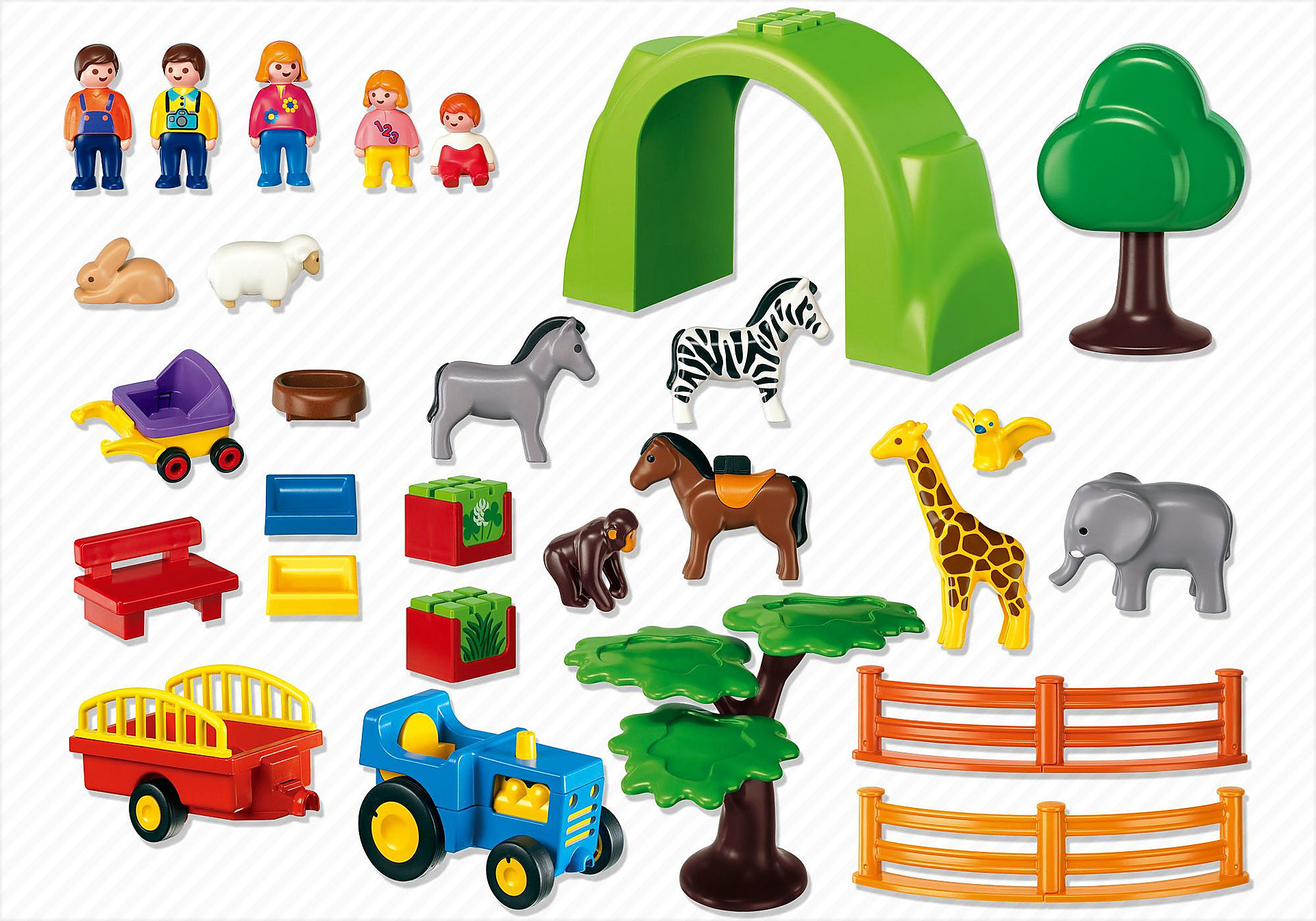 6754 Coffret Grand zoo  zoom image4