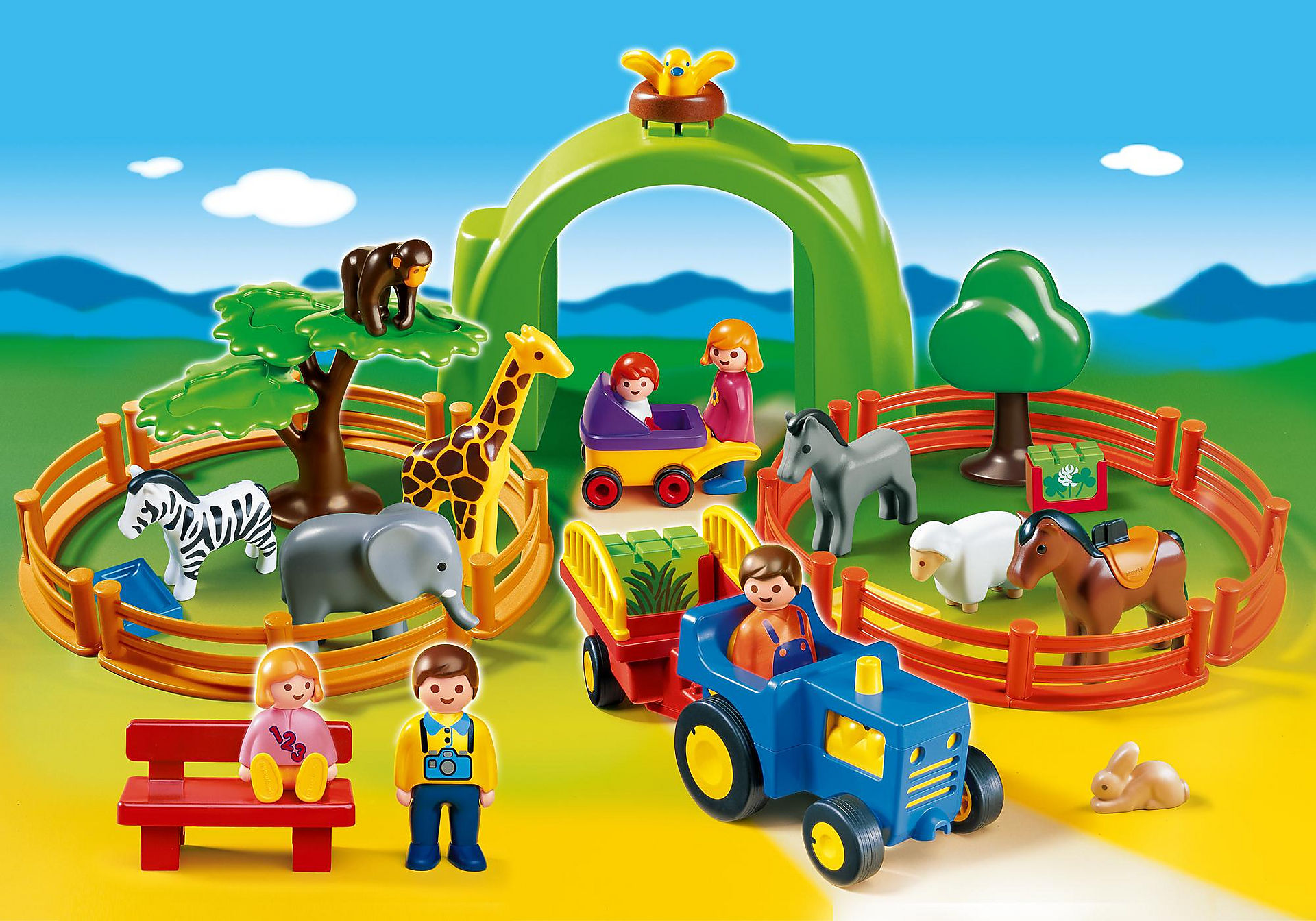 6754 Coffret Grand zoo 1.2.3 zoom image1