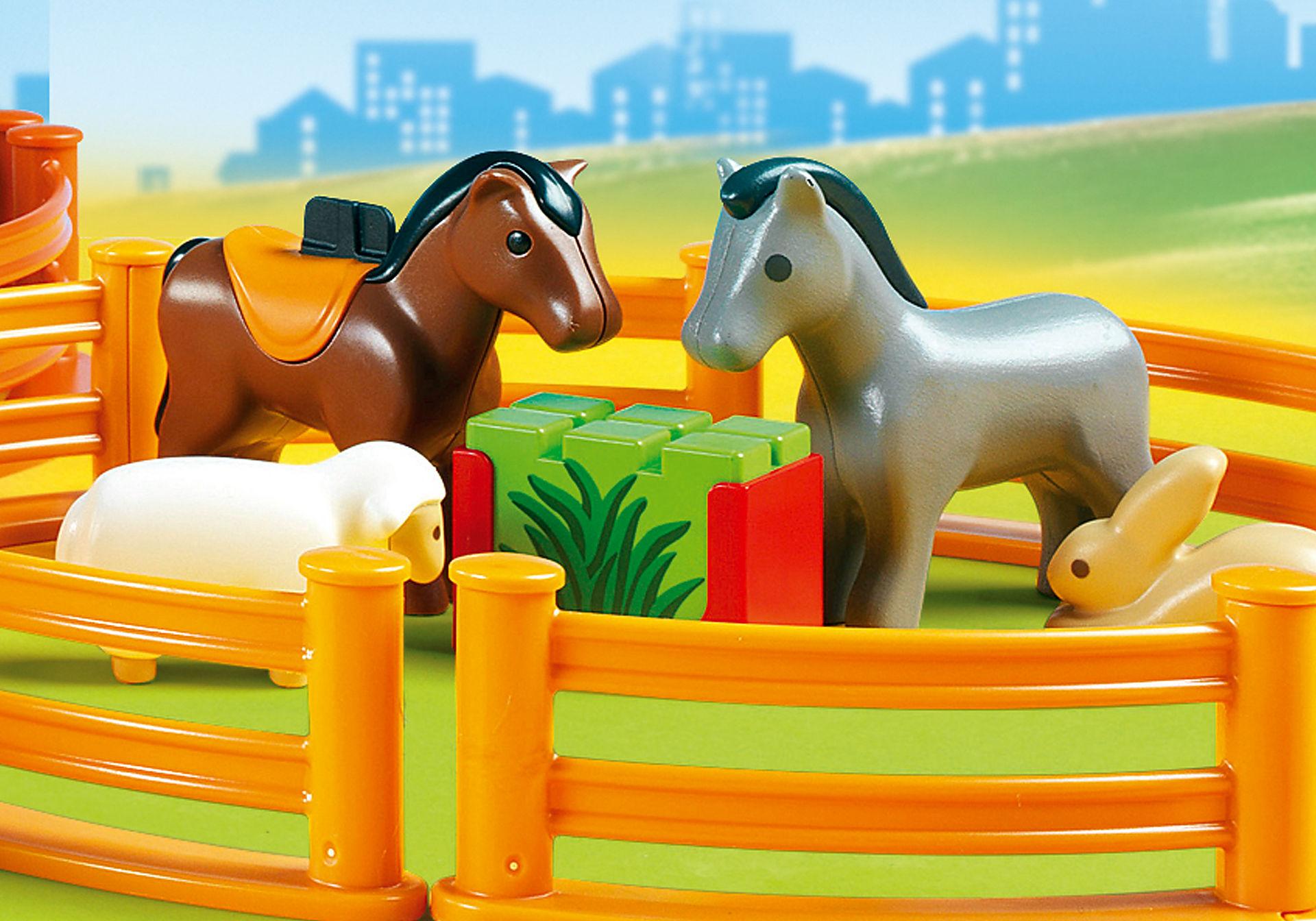 6754 Coffret Grand zoo 1.2.3 zoom image5