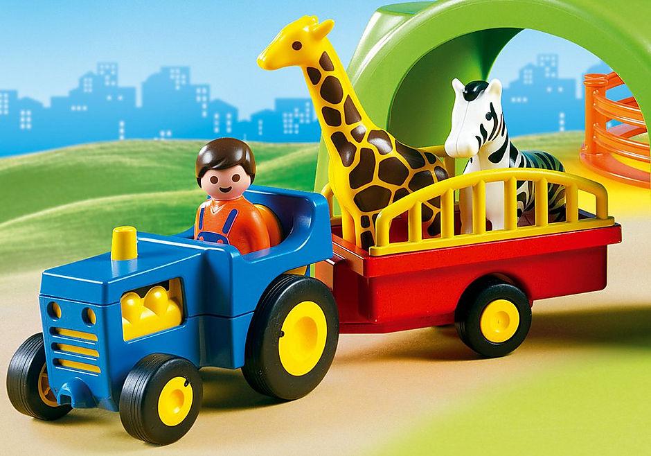 6754 Large Zoo detail image 7