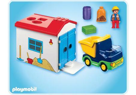http://media.playmobil.com/i/playmobil/6759-A_product_box_back/LKW mit Sortiergarage