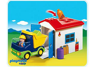 6759-A Camion avec garage