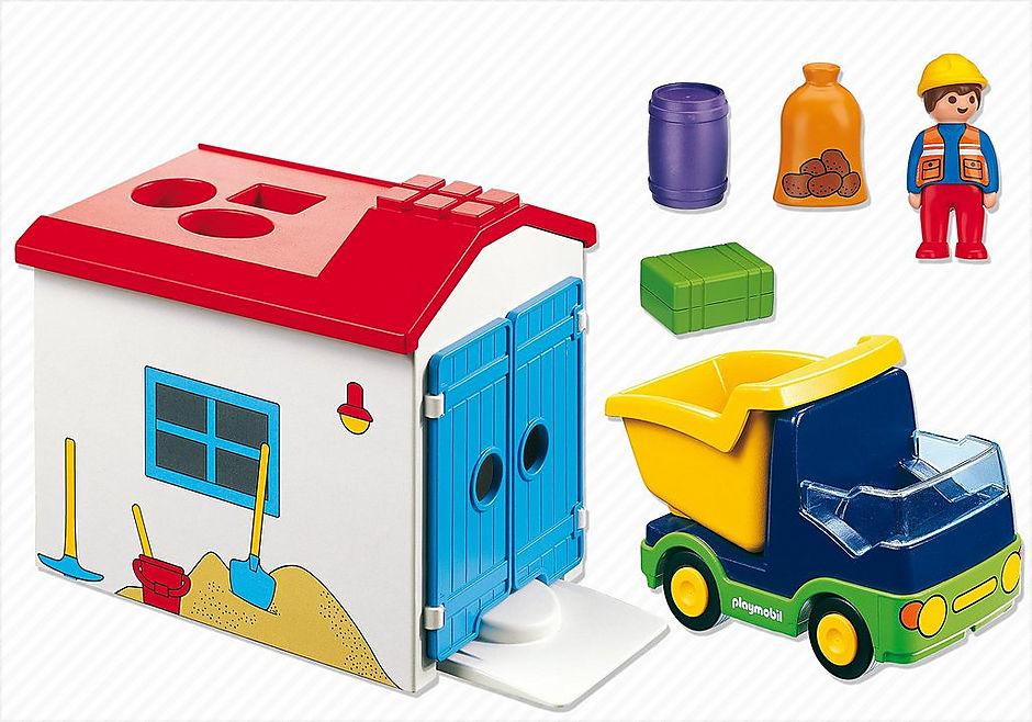 http://media.playmobil.com/i/playmobil/6759_product_box_back/1.2.3 Camión con Garaje
