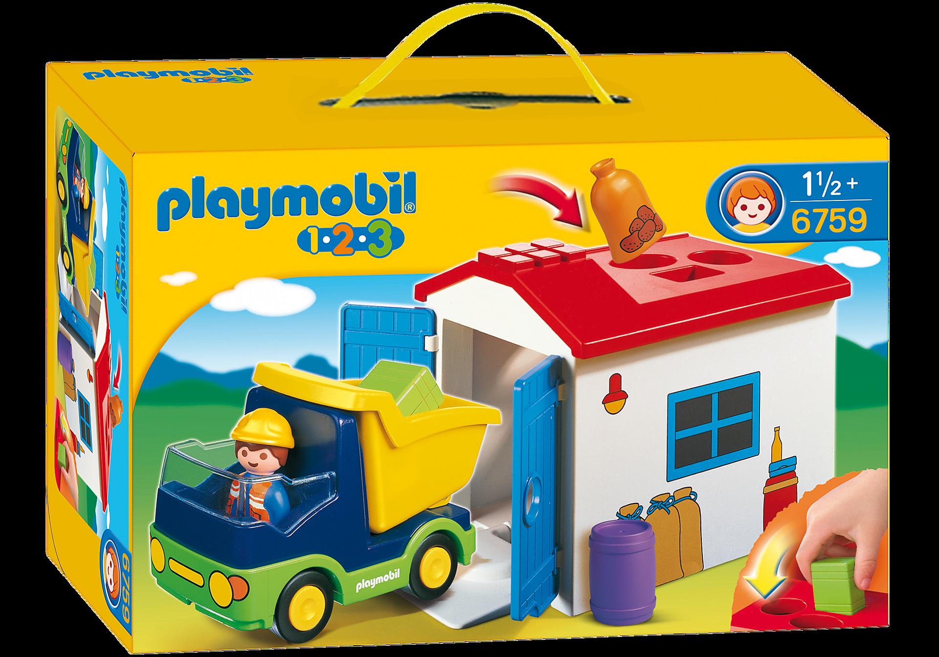 http://media.playmobil.com/i/playmobil/6759_product_box_front/1.2.3 Camión con Garaje