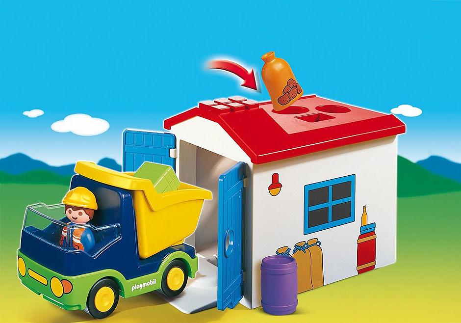 http://media.playmobil.com/i/playmobil/6759_product_detail/1.2.3 Camión con Garaje