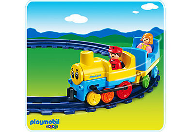 6760-A Train avec rails