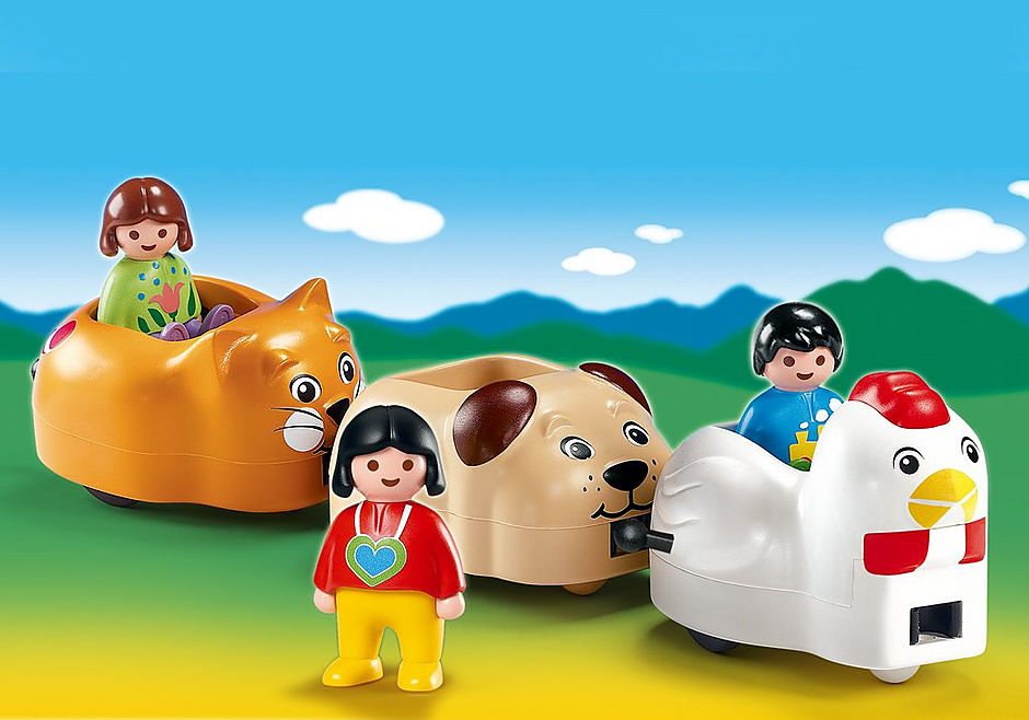 6767-A Train des animaux detail image 1