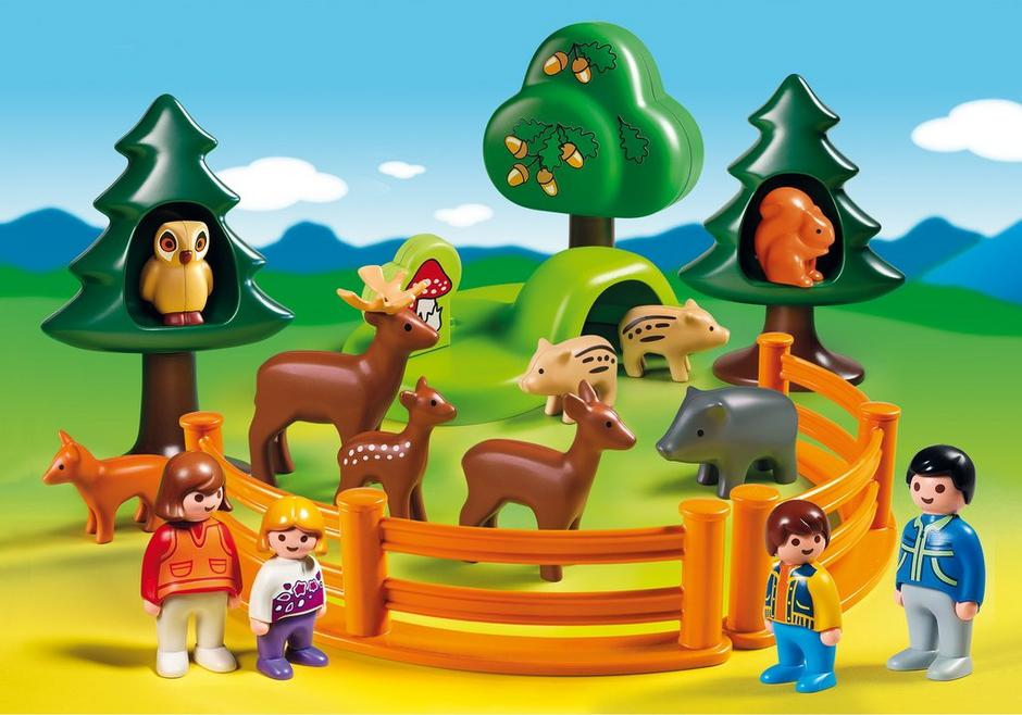 1 2 3 Forest Animal Park 6772 A Playmobil