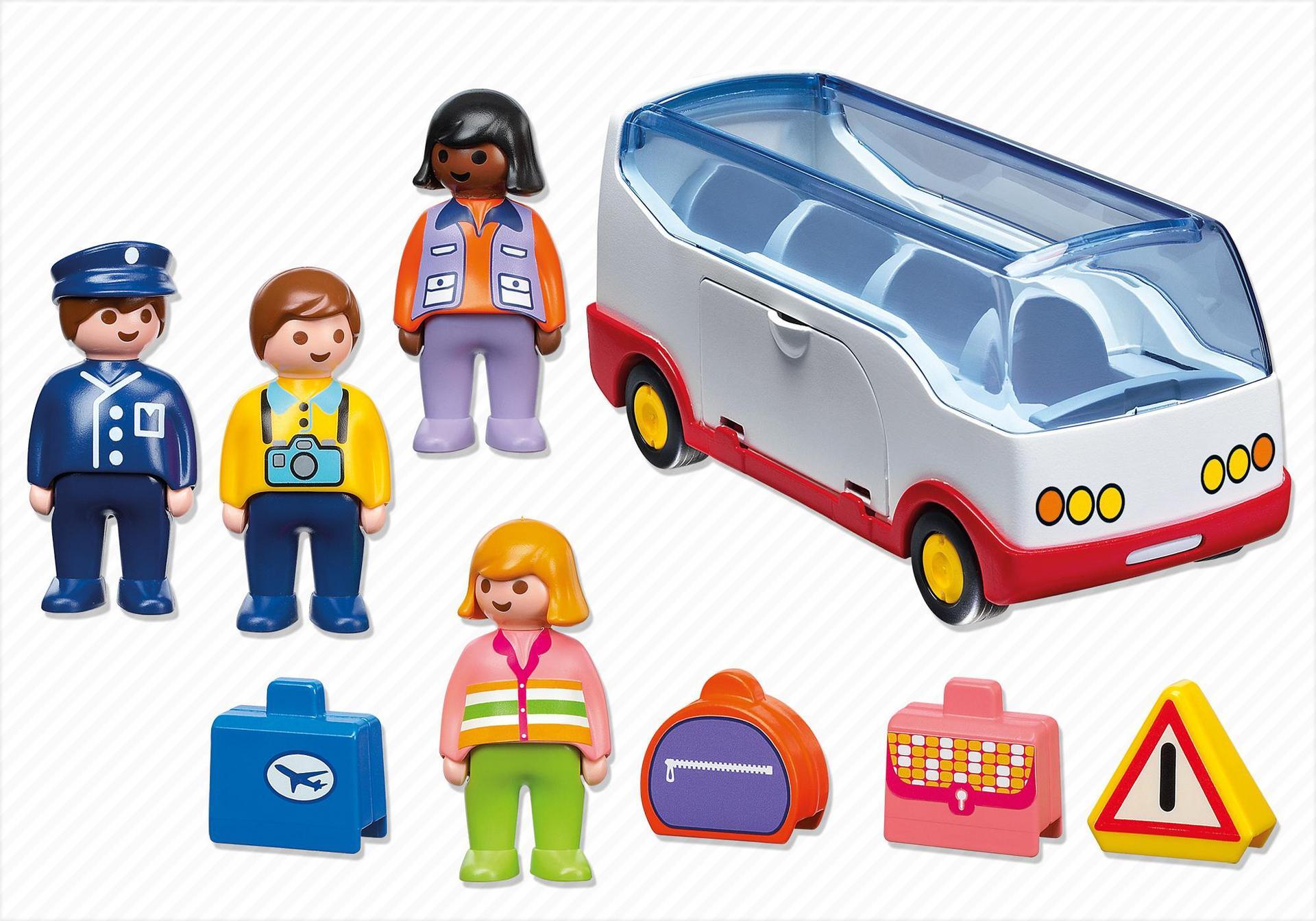 Autocar de voyage 6773 playmobil france - Autocar playmobil ...