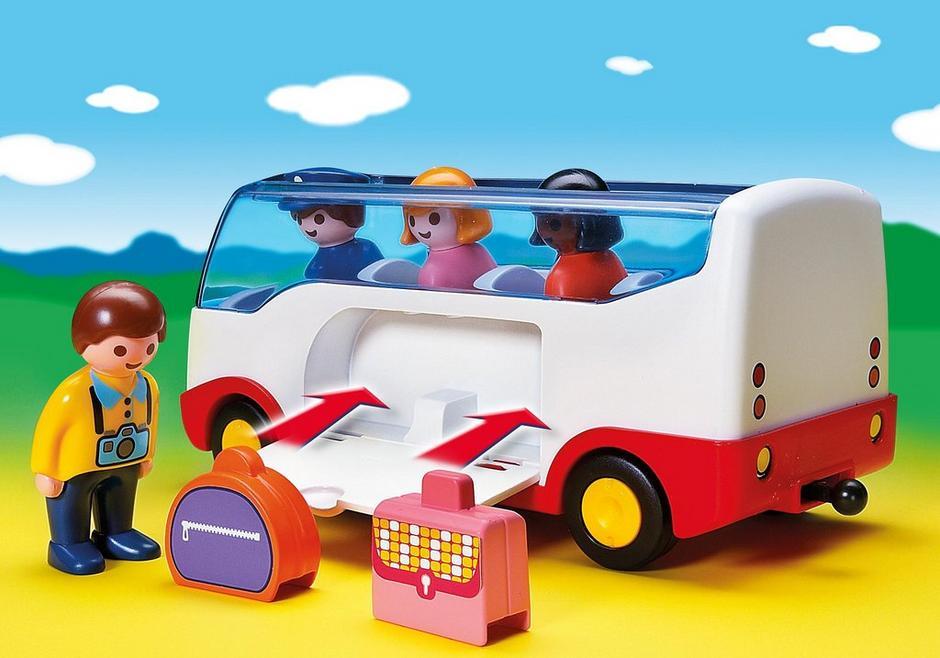 123 Airport Shuttle Bus 6773 Playmobil Usa