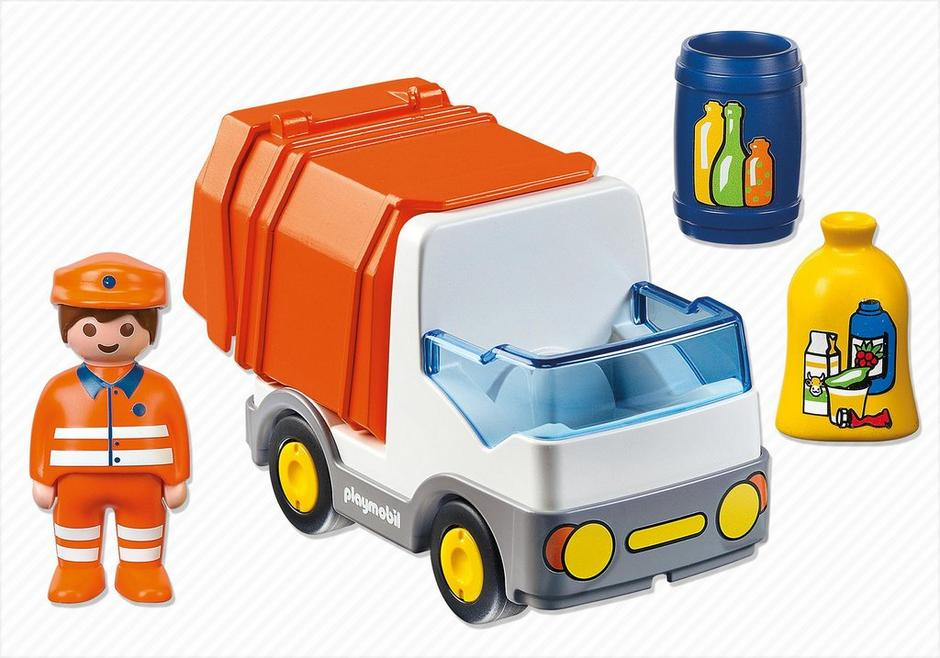 Camion poubelle 6774 playmobil france - Playmobil camion ...