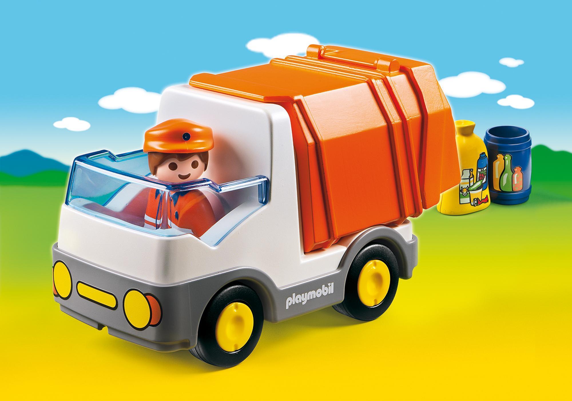 http://media.playmobil.com/i/playmobil/6774_product_detail/1.2.3 Camión de Basura