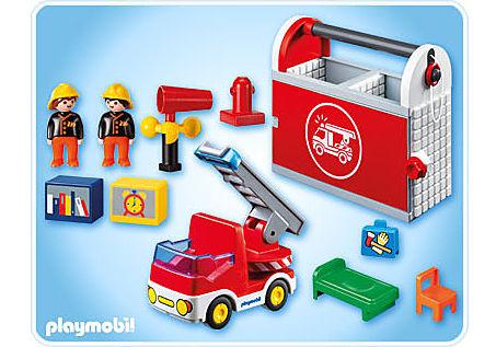 6777-A Meine Mitnehm-Feuerwehrstation detail image 2