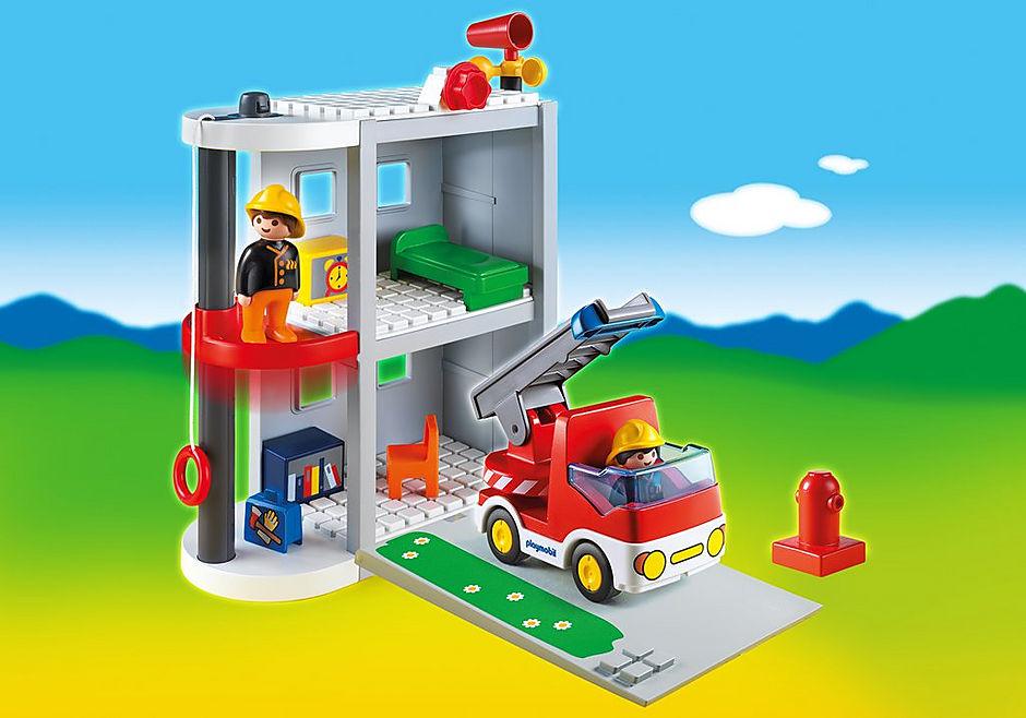 6777-A Meine Mitnehm-Feuerwehrstation detail image 1