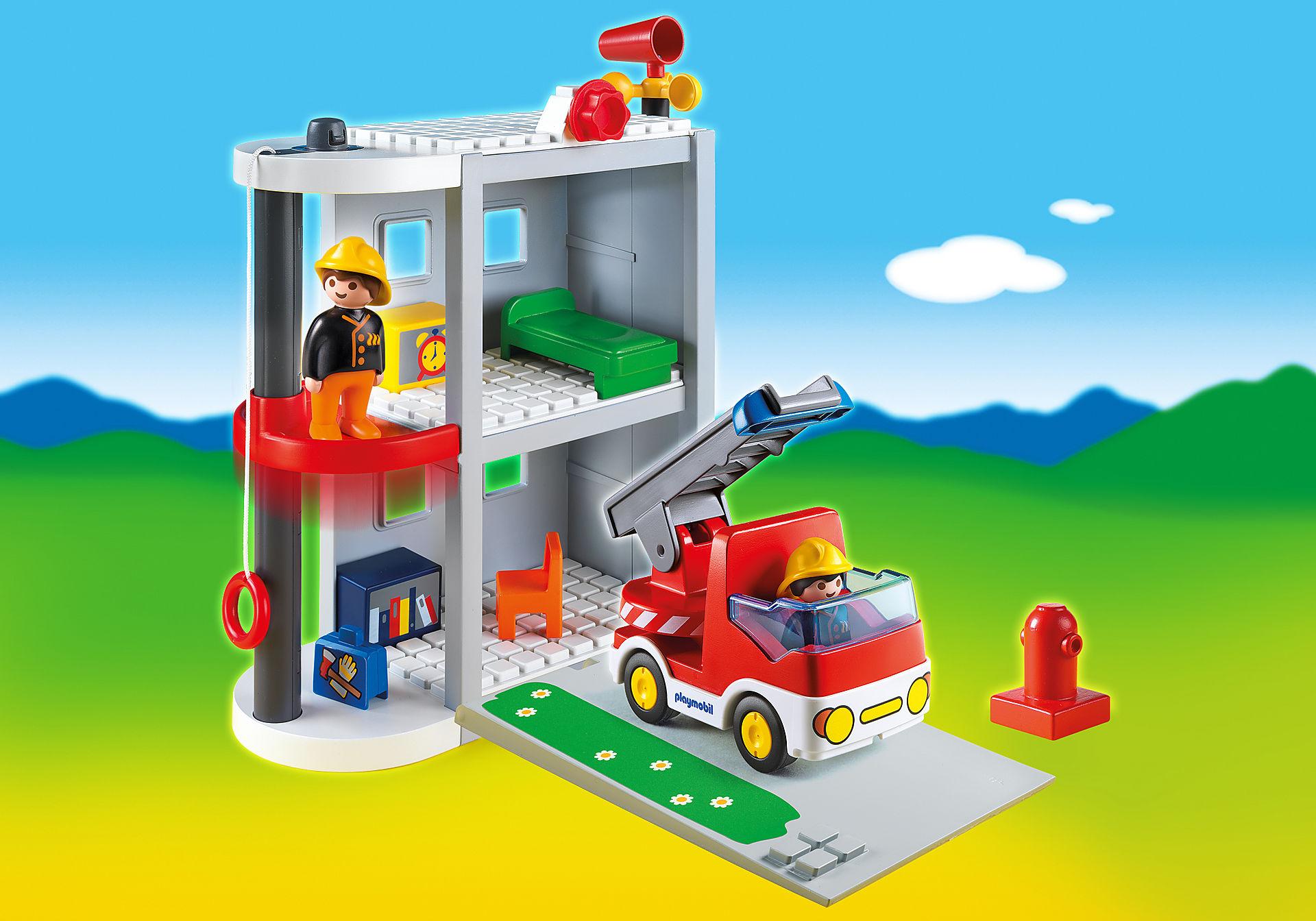 6777-A Meine Mitnehm-Feuerwehrstation zoom image1