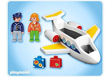 6780-A Passagierflugzeug detail image 2