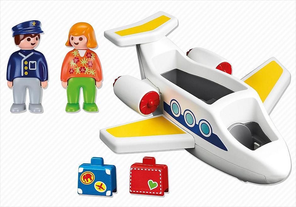 6780 Passagierflugzeug detail image 3