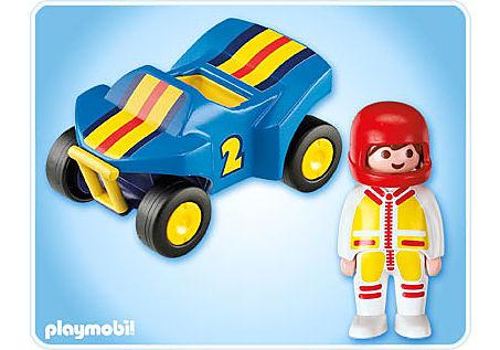 6782-A Rennfahrer mit Quad detail image 2