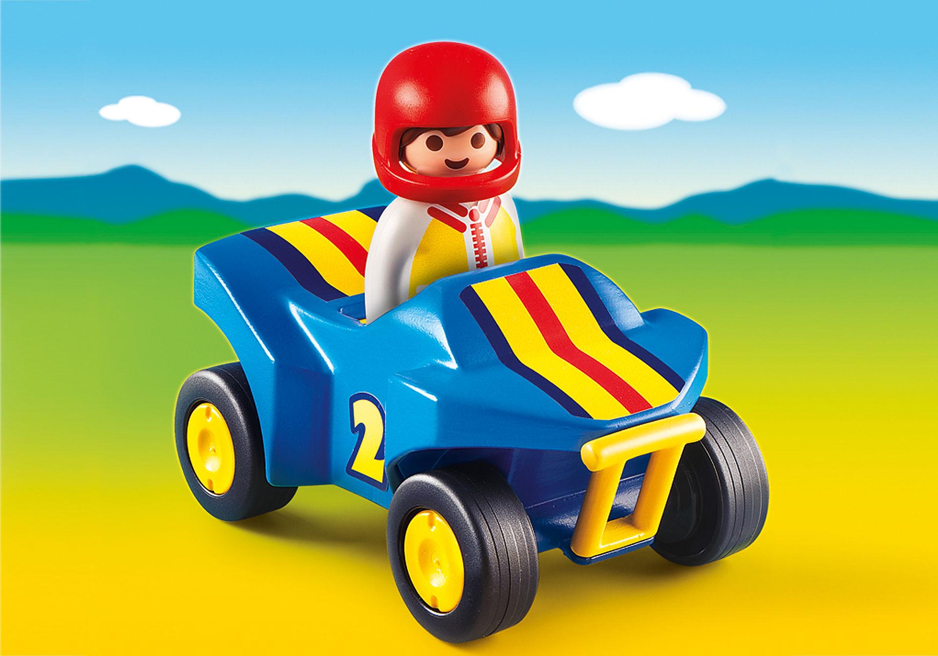 6782-A Rennfahrer mit Quad zoom image1