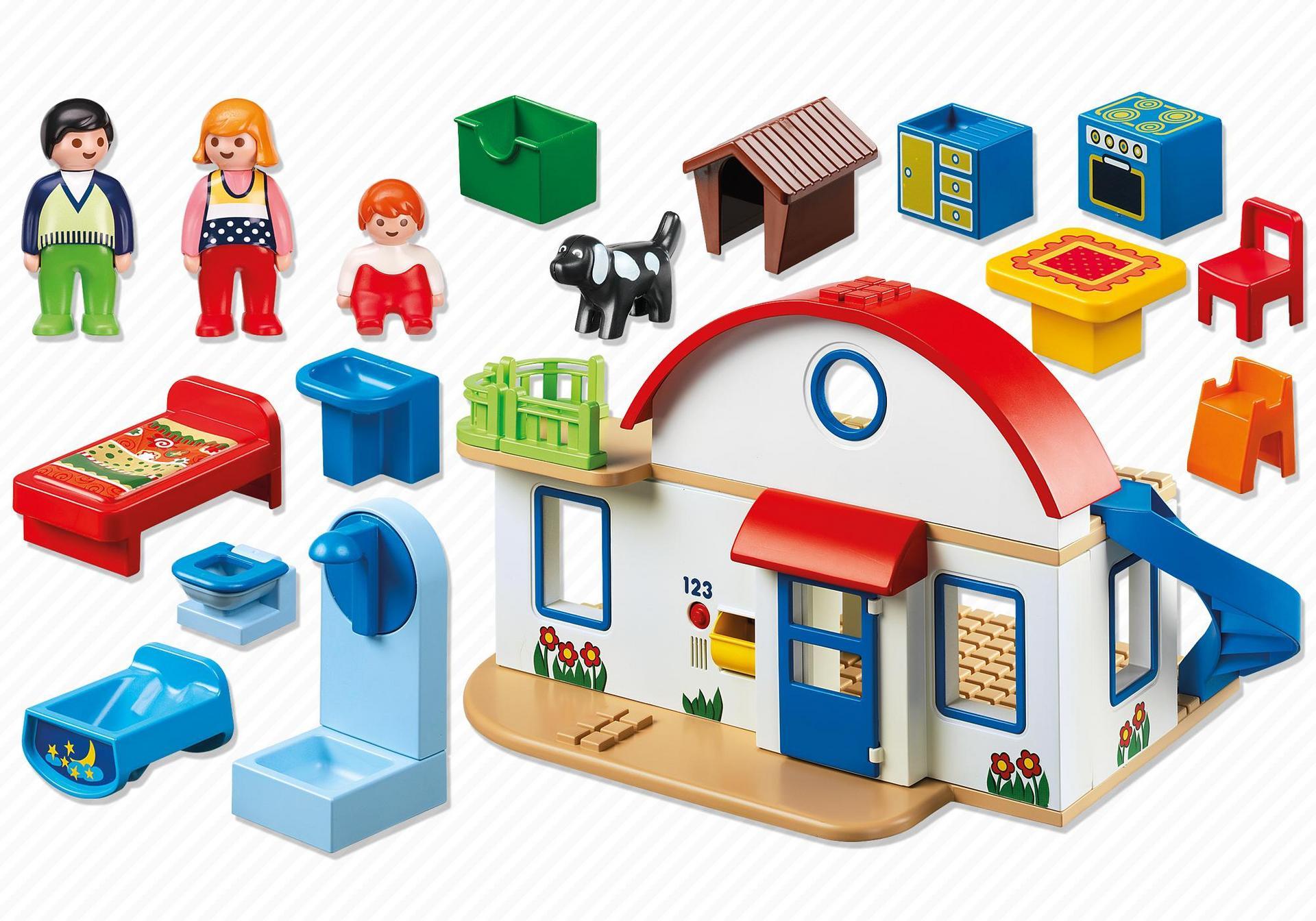 maison de campagne 6784 playmobil france. Black Bedroom Furniture Sets. Home Design Ideas