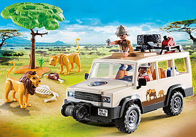 6798_product_detail/Safari Truck with Lions