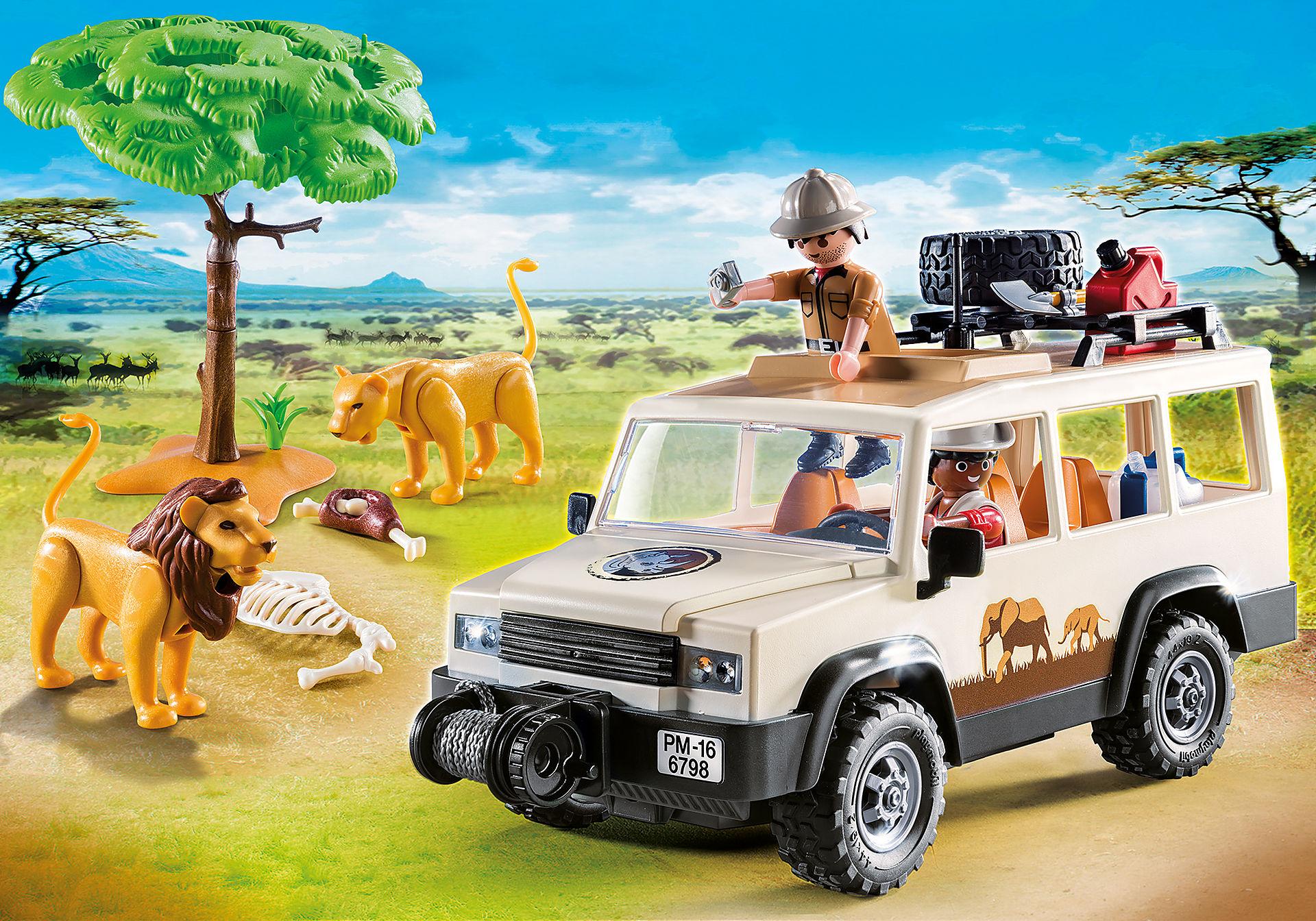 http://media.playmobil.com/i/playmobil/6798_product_detail/Vehículo Safari con Leones