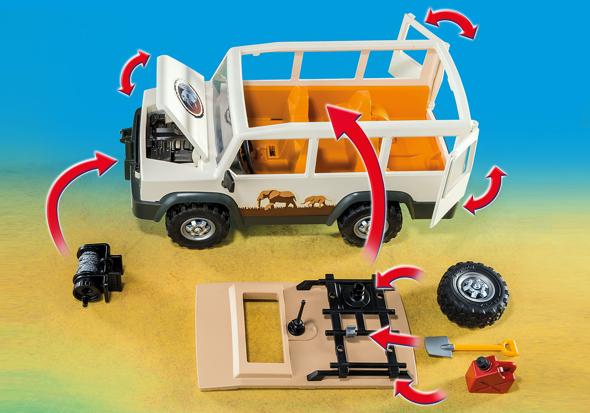 http://media.playmobil.com/i/playmobil/6798_product_extra3/Aventuriers avec 4x4 et couple de lions