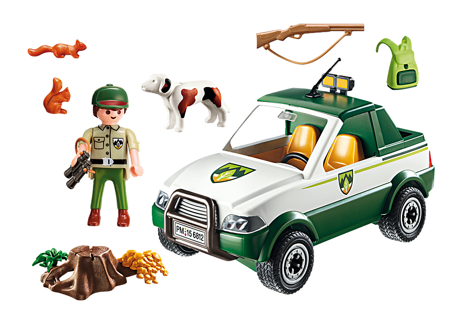 6812 Garde forestier avec pick-up detail image 4