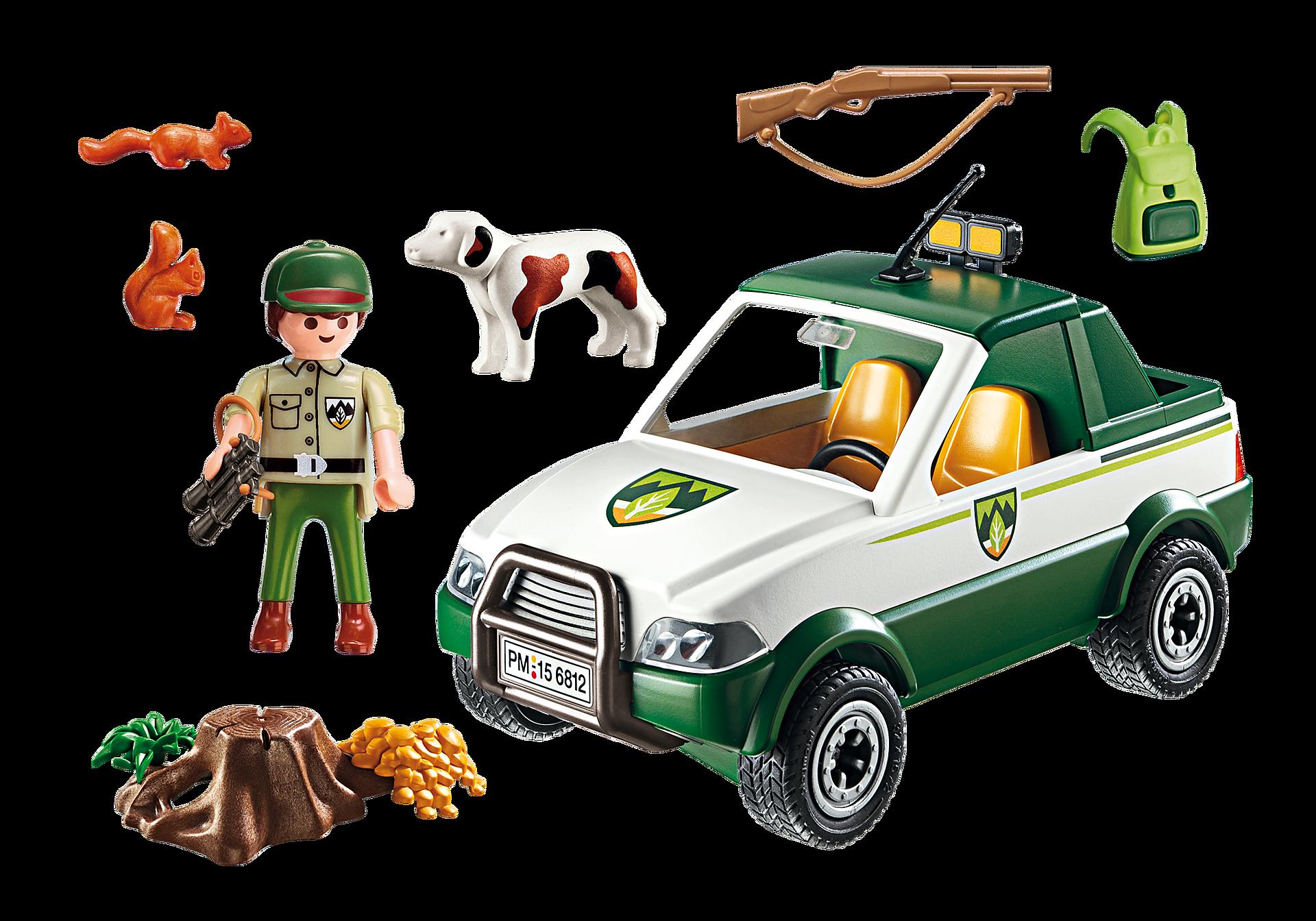 6812 Garde forestier avec pick-up zoom image4