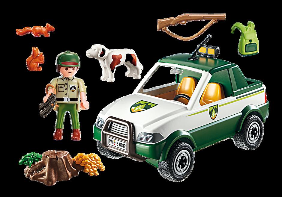 6812 Terrängbil med skogsvaktare detail image 4
