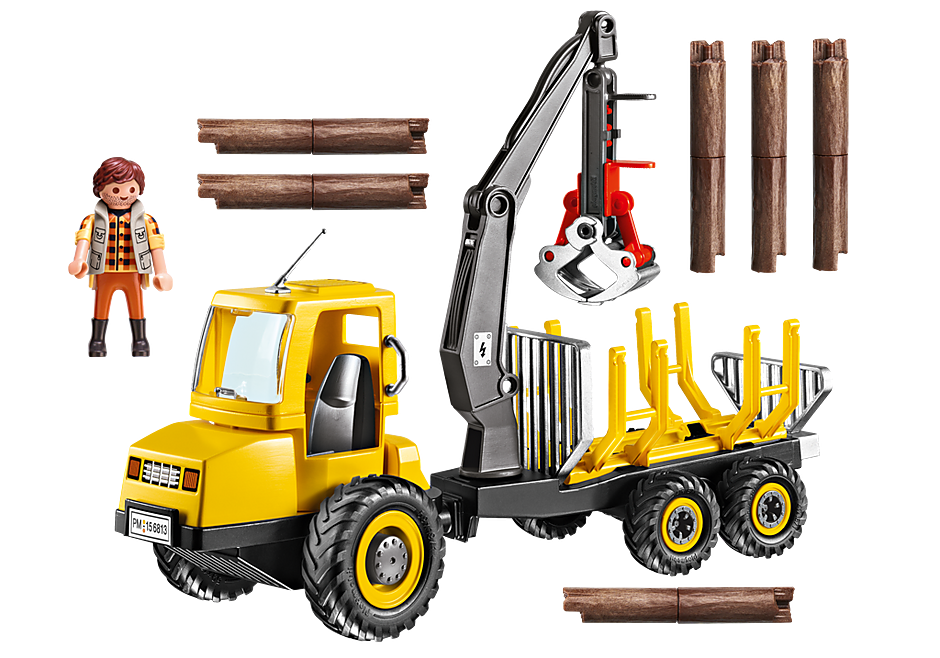 6813 Timber Transporter with Crane detail image 4