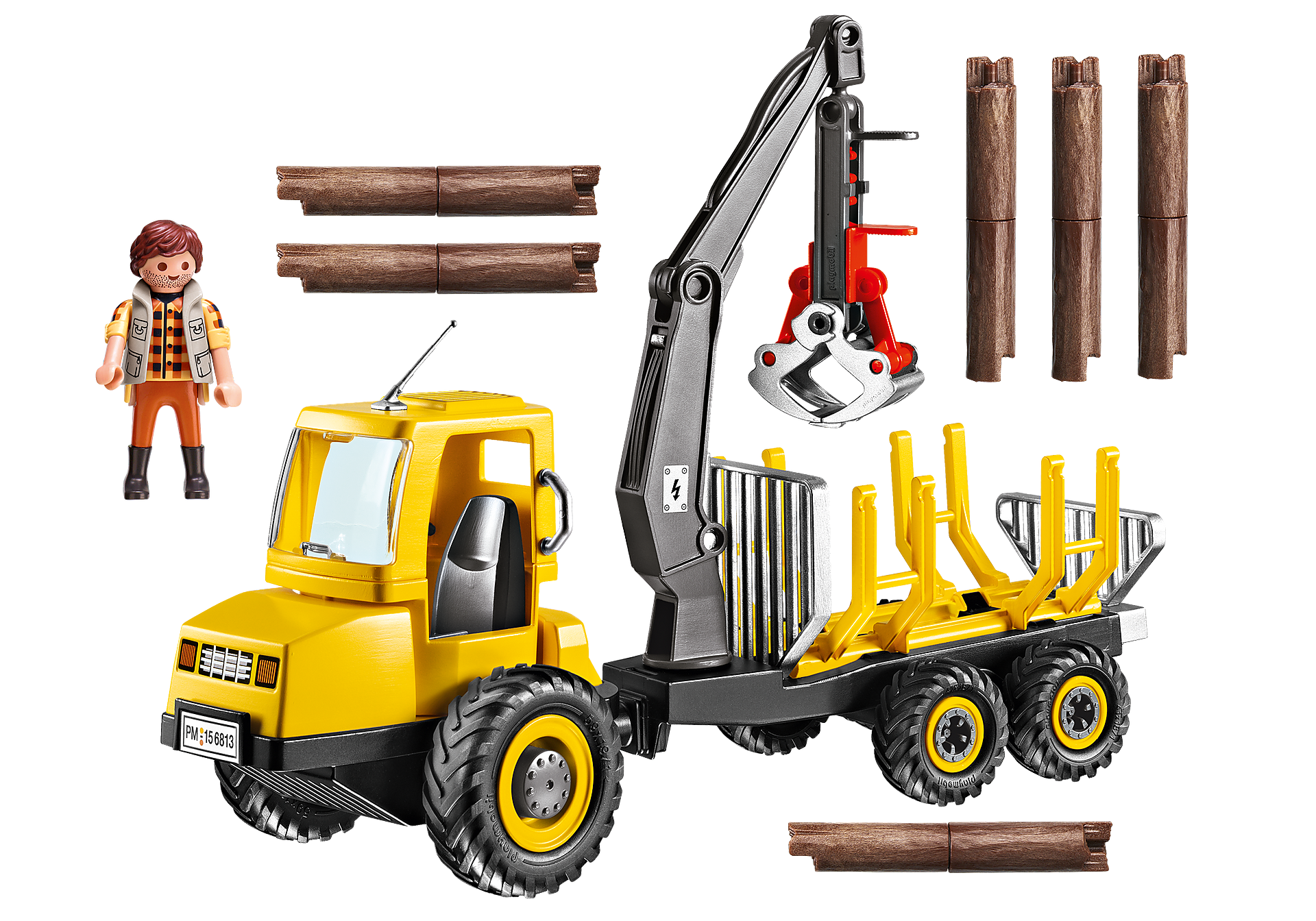 6813 Timber Transporter with Crane zoom image4