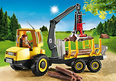 6813 Timber Transporter with Crane