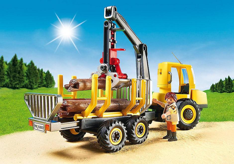 6813 Timber Transporter with Crane detail image 5