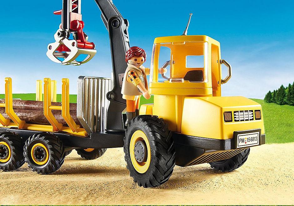 6813 Timber Transporter with Crane detail image 6