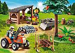6814 Houthakker met tractor