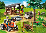 6814 Leñador con Tractor