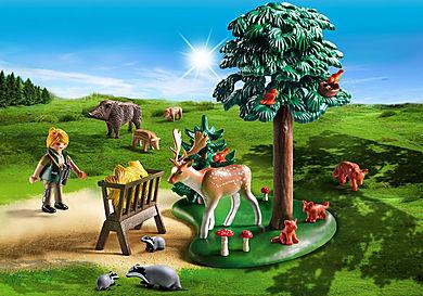 6815 Δασοφύλακας με ζώα δάσους