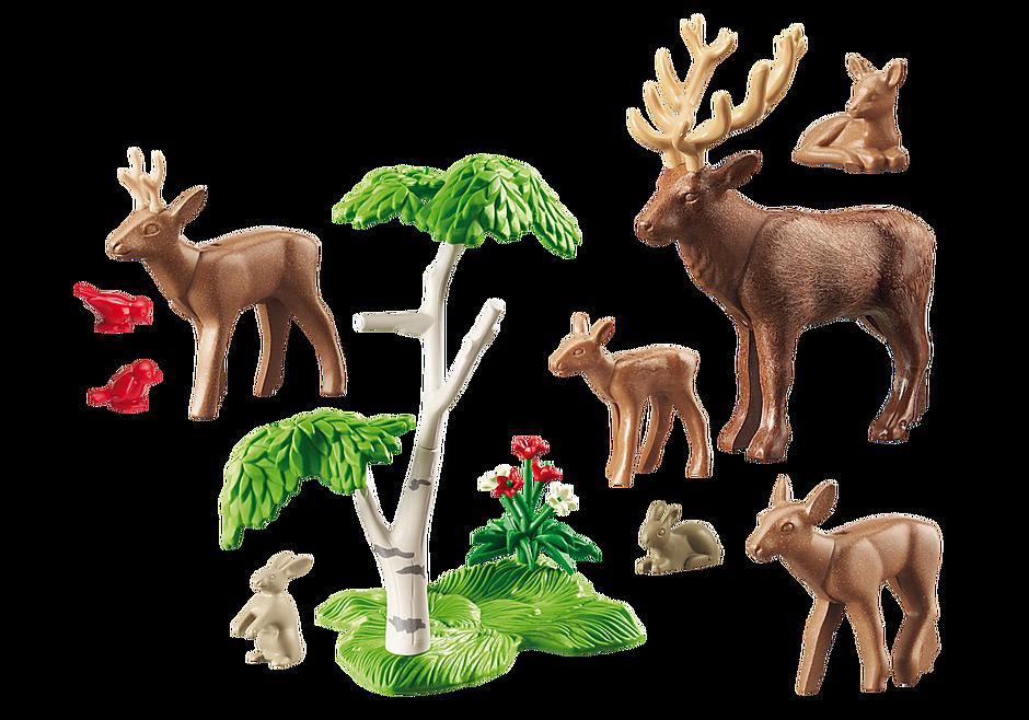 6817 Família de cervos detail image 4