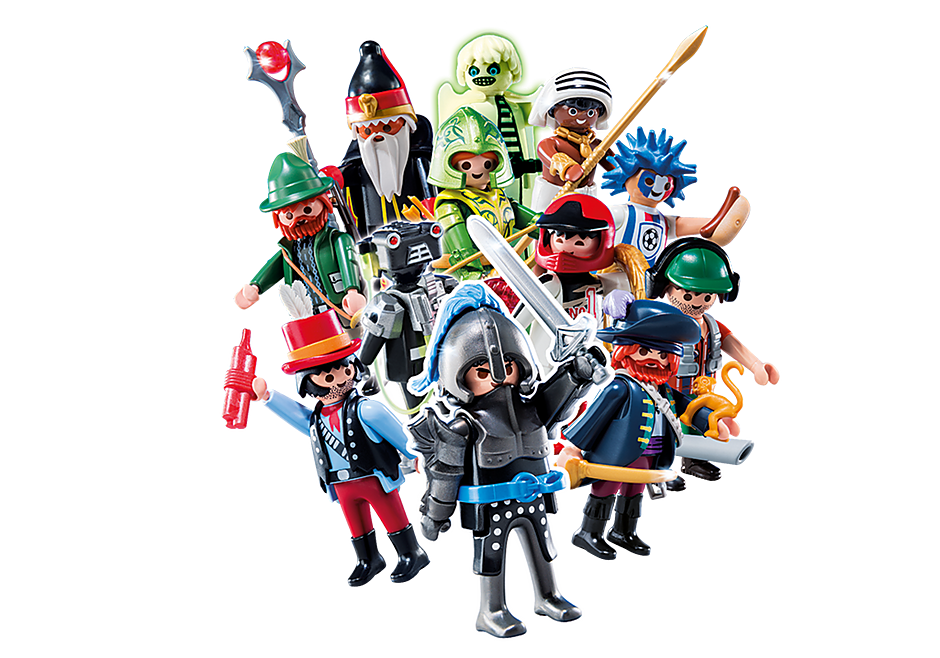 http://media.playmobil.com/i/playmobil/6840_product_detail/'PLAYMOBIL Figures Garçons - série 10