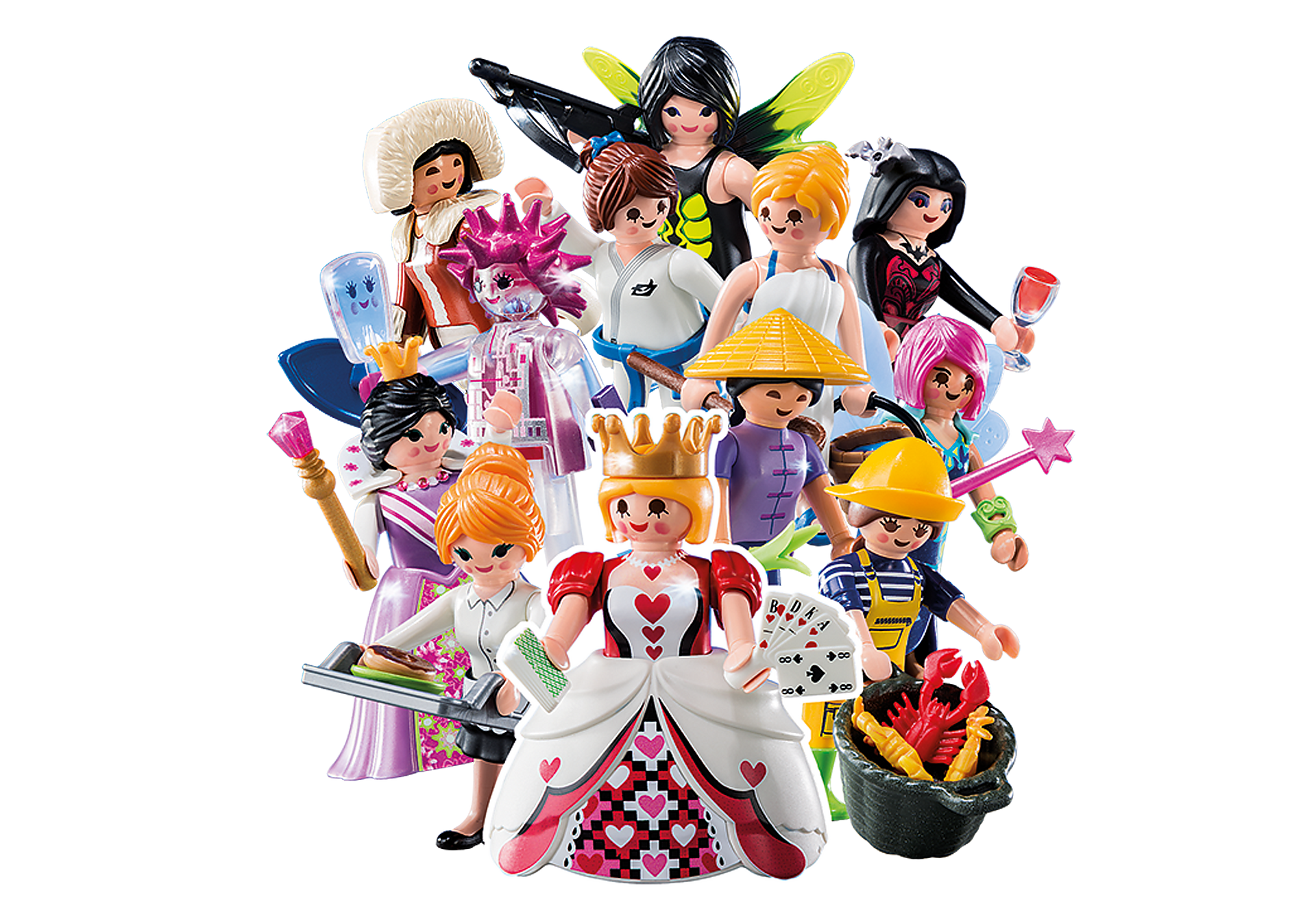 6841 PLAYMOBIL-Figures Girls (Serie 10) zoom image1