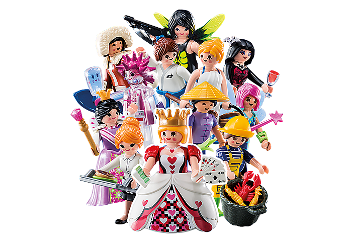 6841 PLAYMOBIL-Figures Girls (Serie 10)
