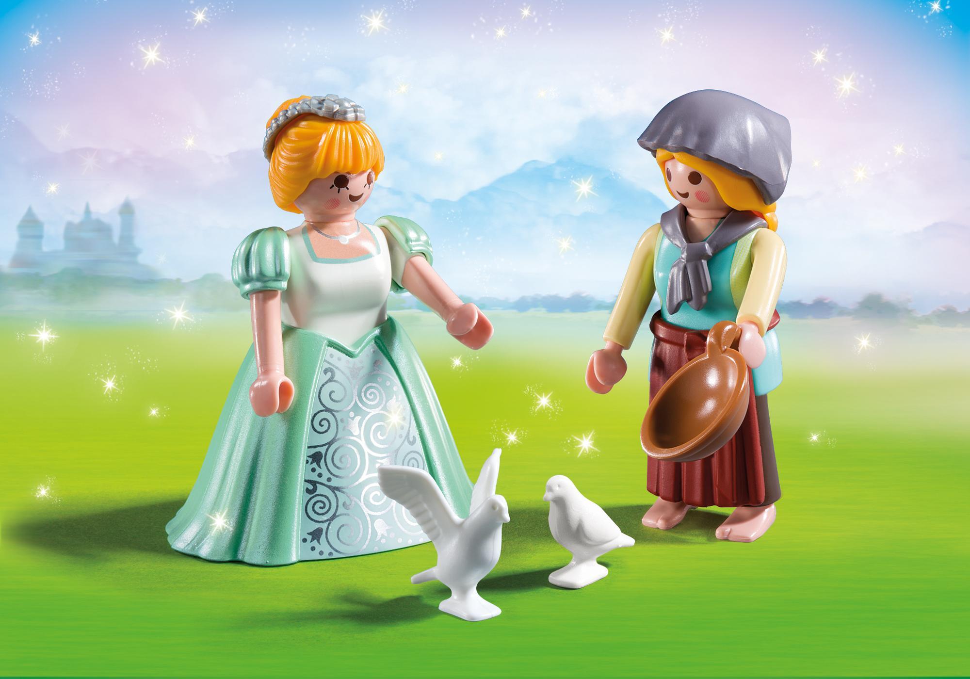 http://media.playmobil.com/i/playmobil/6843_product_detail/ДУО: Принцесса и служанка