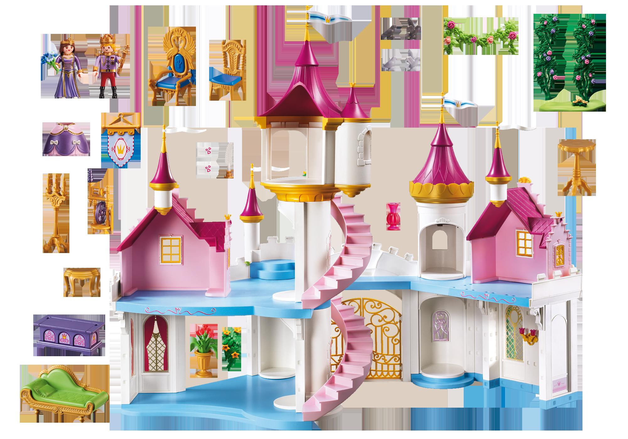 http://media.playmobil.com/i/playmobil/6848_product_box_back/Замок Принцессы: Большой Замок Принцессы