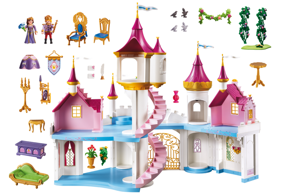 Grand ch teau de princesse 6848 playmobil france for Image chateau princesse