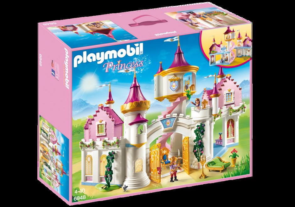 Prinzessinnenschloss 6848 playmobil deutschland for Chateau playmobil princesse 4250
