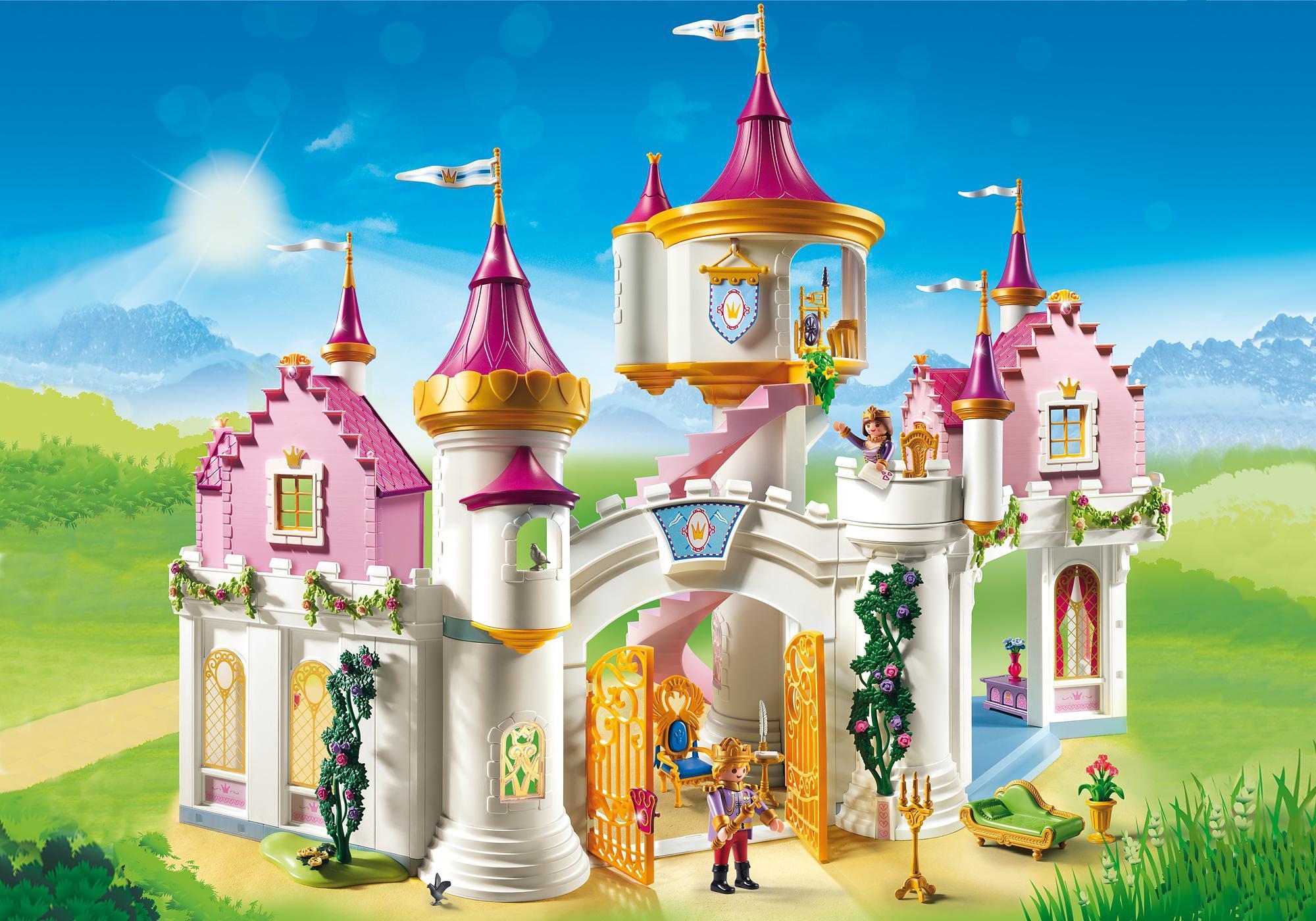 Grand château de princesse